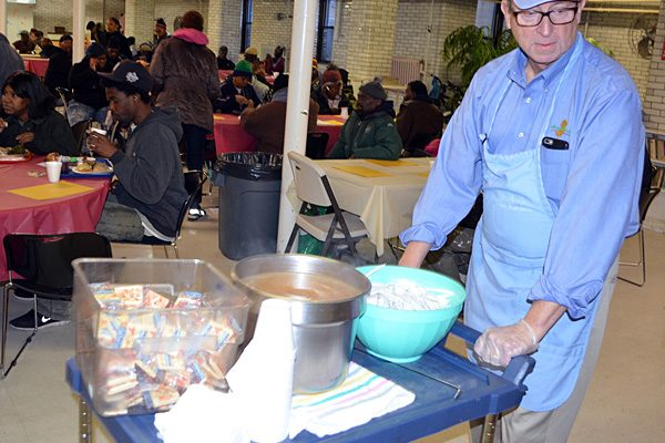 Fisher to serve Thanksgiving meals in Bridgeton