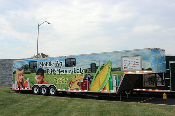 Farmer donates grant to support mobile ag lab
