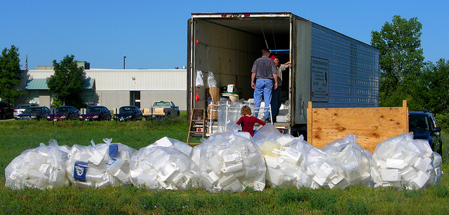 pesticide container recycling
