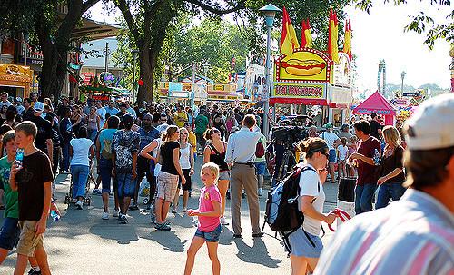 $11.1 million in fairgrounds improvements