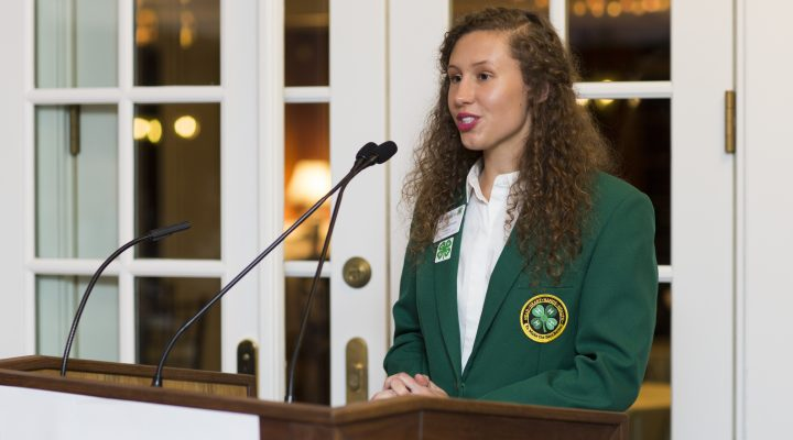 4-H youth attend presidential inauguration