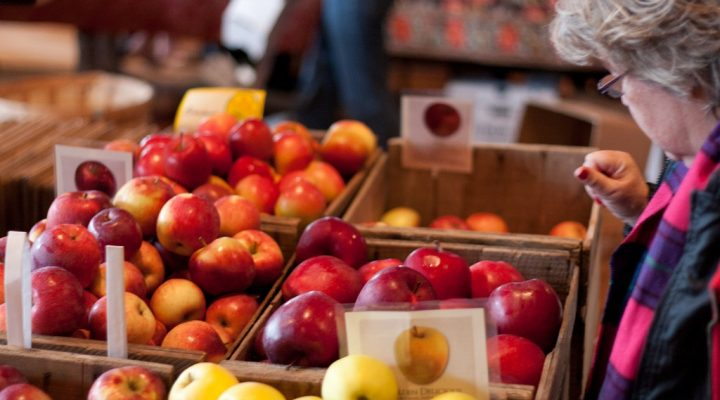 Many farmers markets are open all winter