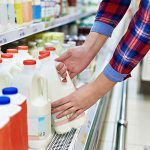 Consumers are finally benefitting from lower-priced milk and meat products at the grocery store, following an extended period of declining prices for livestock farmers. (Courtesy of Michigan Farm Bureau)