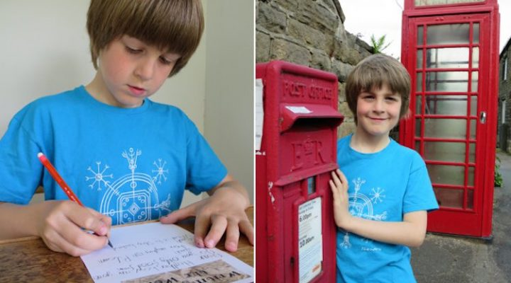 Boy seeks global pen pals with 1,000 letters