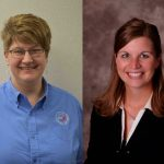 Janine Moore and Tamara Heim were elected as directors on the Executive Committee for the Iowa Beef Industry Council (IBIC), the organization that collects the $1 per head Beef Checkoff Program. (Courtesy of Iowa Beef Industry Council )