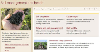 New soil management and health website