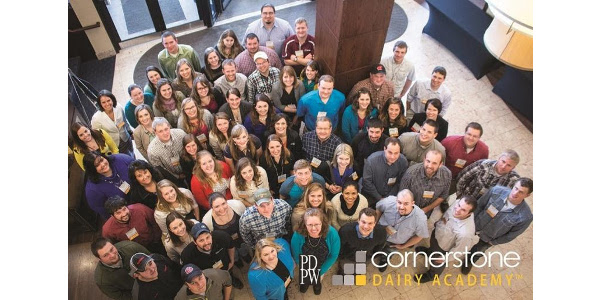 Cornerstone DairyAcademy is an application based program that equips attendees with the resources needed to fortify and build advanced skill-setsthrough a choice of three compelling courses, each focused on a comprehensive suite of communication and leadership skills. (Courtesy of PDPW)
