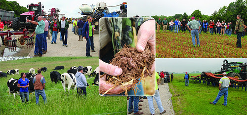 Farm field days show participants the most innovative farming methods. (Courtesy of USDA NRCS)