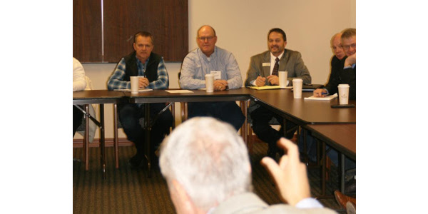 This past week, Colorado Corn CEO Mark Sponslor and Colorado Corn Growers Association President Dave Eckhardt sat down for a roundtable discussion on various agriculture and water issues, which was hosted by U.S. Rep. (Colorado Corn)