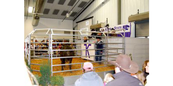Kansas State University's Animal Sciences and Industry Department will host the Legacy Sale on Friday, March 3 at the Stanley Stout Center in Manhattan.