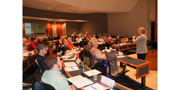 Professionals lead food safety training