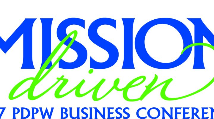 Mission Driven Logo_2017 PDPW Business Conference
