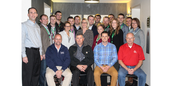 This past week young leaders from across the state took part in the Nebraska Corn Growers Association 29th annual Washington D.C. Leadership Mission. (Courtesy of Nebraska Corn Growers Association)