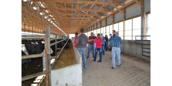 Brian has hosted Ag United bus tours at his farm and was featured in a recent profile. (Courtesy of Agriculture United for South Dakota)