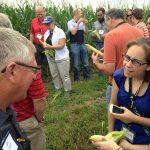 2016 Seed to STEM teachers toured a corn farm and an ethanol plant. (Courtesy of Kansas Corn)