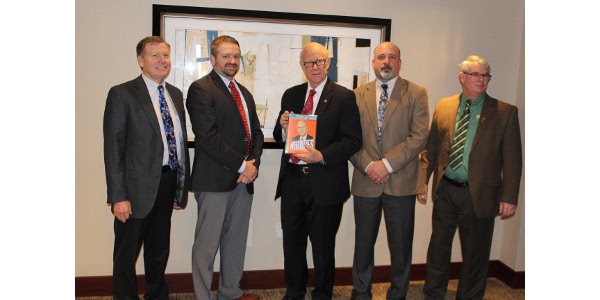 U.S. Wheat Associates Board and Senator Roberts.
