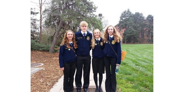 Most of the Nebraska FFA State Convention will take place on the University of Nebraska–Lincoln's East Campus, at Pinnacle Bank Arena and at downtown hotels. (University of Nebraska-Lincoln)