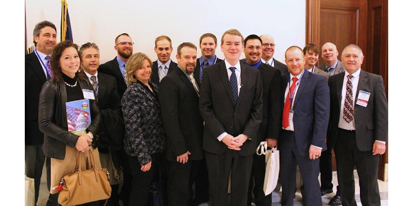 On February 13 through 16, 2016, representatives of the Colorado Potato Industry joined growers and industry leaders from around the country in Washington D.C. for the National Potato Council's 2017 Potato D.C. Fly-In. (Courtesy of Colorado Potato)