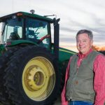 The University of Kentucky Wheat Science Group recently honored Kentucky producer Don Halcomb with its first Service Award. (PHOTO: Stephen Patton, UK Agricultural Communications)