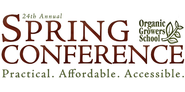 Organic grower spring conference