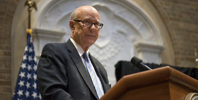 Senator Pat Roberts, Chairman of the Senate Committee on Agriculture, Nutrition and Forestry. (U.S. Department of Agriculture, Flickr/Creative Commons)