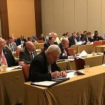 With a new administration in the White House and plenty of work to do, Minnesota Soybean Growers Association (MSGA) directors rolled up their sleeves and got to work Thursday in San Antonio, joining directors from North Dakota, South Dakota and Wisconsin in discussing issues that affect the region. (Minnesota Soybean Growers Association)