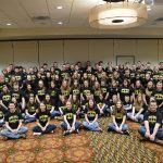 Over 100 high school students from Wisconsin and Minnesota attended Cooperative Network's 2017 Co-ops Yes! Youth Leadership Conference in Eau Claire, Wis. last week. (Courtesy of Cooperative Network)