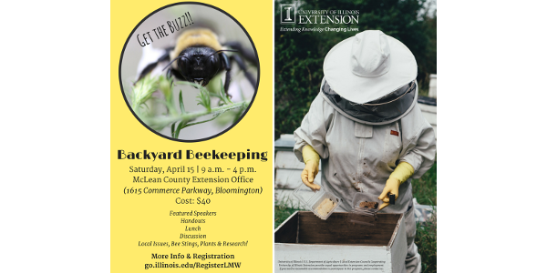 University of Illinois Extension welcomes you to a day of beekeeping education connecting local beekeepers to researchers and educators from the University of Illinois.