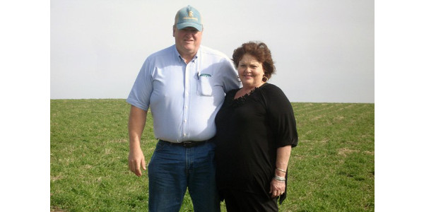Jack and Marion Boyer, of Reinbeck, will host a Practical Farmers of Iowa cover crop field day on their farm on Wednesday, March 29, 2017. (Courtesy of Practical Farmers of Iowa)