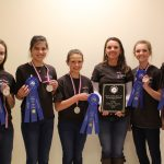 Junior Team Champions- Catawba County. (Courtesy of North Carolina State Extension)