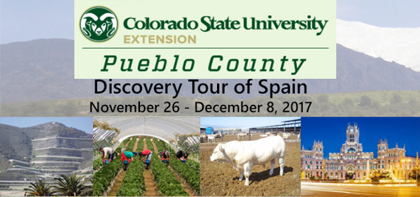 Nov. 26-Dec. 8, 2017, the Pueblo County Extension Office will be leading a tour to Southern Spain. (pueblo.extension.colostate.edu)