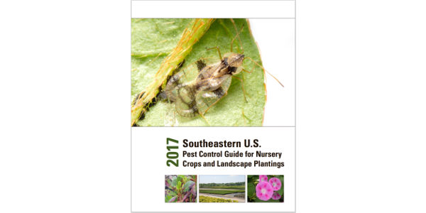 A team of University and Extension personnel from around the Southeast has created the 2017 Southeastern US Pest Control Guide for Nursery Crops and Landscape Plantings.
