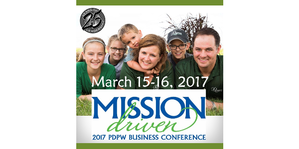 The Professional Dairy Producers® (PDPW) 2017 Business Conference will bring dairy farmers and other industry professionals together for 61 educational sessions, including 10 with expert producer panels, Mar. 15-16, at the Alliant Energy Center in Madison, Wis.
