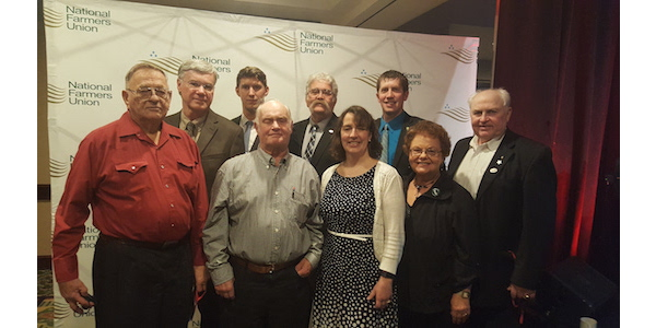 The Minnesota Farmers Union (MFU) delegation was a part of nearly 500 family farmers and ranchers who convened in San Diego both to engage in thoughtful policy deliberations, as well as to learn from agricultural experts and each another. (Courtesy of Minnesota Farmers Union)
