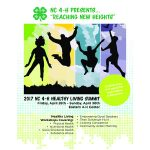 On Friday, April 28th – Sunday, April 30th NC 4-H will host its first ever Healthy Living Summit at the Eastern 4-H Center in Columbia, NC.