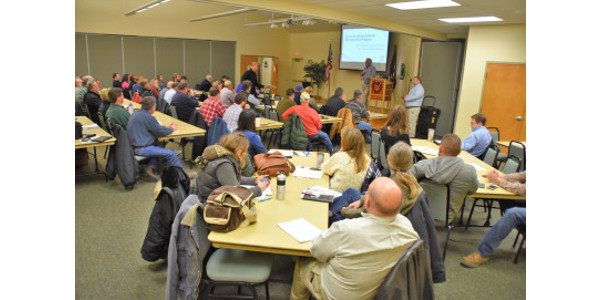 Recent seminars in Christian, Clark and Shelby counties on the basics of hemp production drew considerable interest. (Courtesy of Farmstead Media)