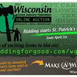 The online auction will be open for bidding through April 1.