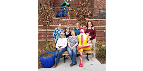 The CFB WLC and county Farm Bureau volunteers served a baked potato bar with potatoes donated from the San Luis Valley for the Ronald McDonald House guests. (Courtesy of Colorado Farm Bureau)
