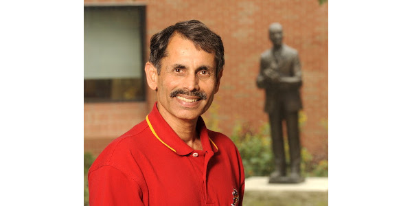 """""""From scientific advances that will propel agriculture into the next generation, to recently increased mergers and acquisitions — this symposium will examine how these changes will impact the industry and economy, farmers and ultimately consumers,"""" said Manjit Misra, Seed Science Center director. (Courtesy of ISU CALS)"""