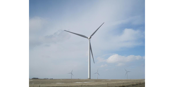 Campbell County Wind Farm owned by Con Ed. (Courtesy photo)