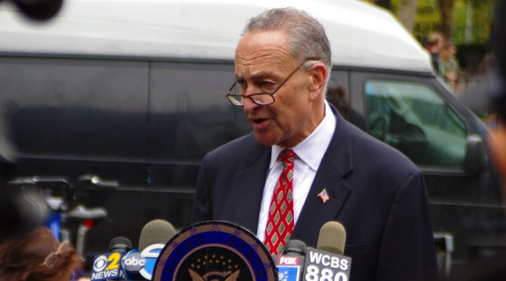 Senator Charles Schumer, D-N.Y. (Mike Steele, Flickr/Creative Commons)