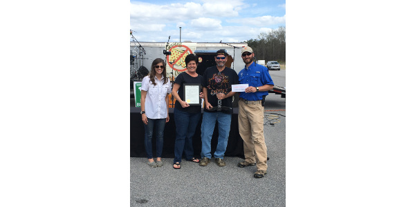 Killer B's BBQ of Evans, GA took home the Grand Champion title from the 2017 Commissioner's Cup BBQ Cook-off and Festival. (Courtesy of South Carolina Department of Agriculture)