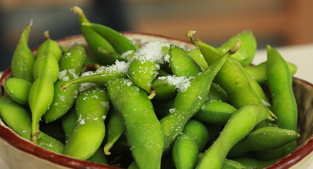 Edamame are flavorful & easy to grow
