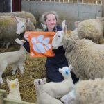 Lindsay Rodenkirchen is the first Clemson student to finish her bachelor's degree in animal and veterinary sciences at the University of Glasgow as part of an agreement between the universities. (Image Credit: Lindsay Rodenkirchen)