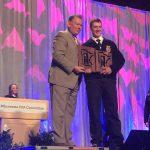 The Minnesota FFA Association named Logan Schoon the 2017 Minnesota FFA Star in AgriBusiness. (Minnesota FFA Association via Facebook)