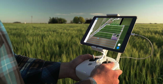 Instant drone mapping for agriculture