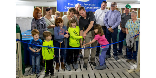 Sow farm tour attracts over 500 visitors