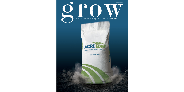 Grow magazine will hit the mailboxes of more than 7,000 Landus Cooperative members, employees and industry partners in nearly 40 states this week.
