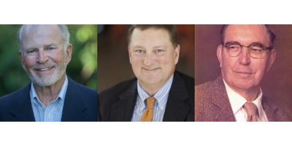 Phil Hinderaker, Philip Jones and Donald MacFarlane. (Courtesy of UW-Madison CALS)