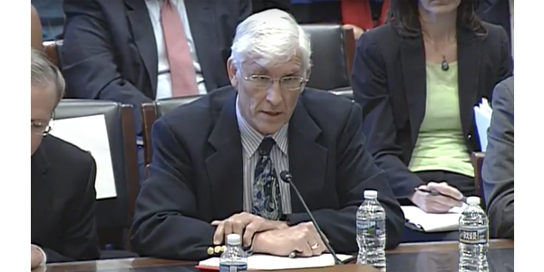 Guido van der Hoeven testified about tax reform before the U.S. House of Representatives' Committee on Agriculture. (Courtesy of North Carolina State University College of Agriculture and Life Sciences)